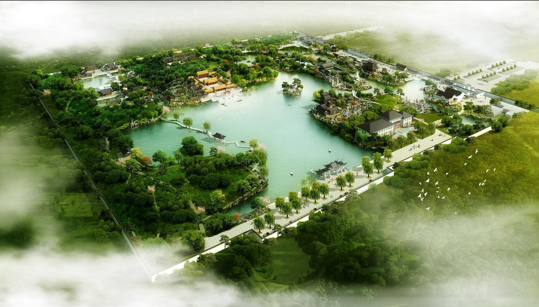四合院设计庆德工作室 古建园林 案例 > 古建筑园林设计       相关